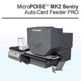 micropoise card feeder