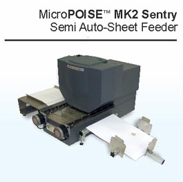 MicroPOISE semi auto sheet feeder